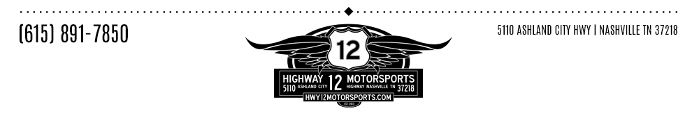 HIGHWAY 12 MOTORSPORTS - Nashville, TN