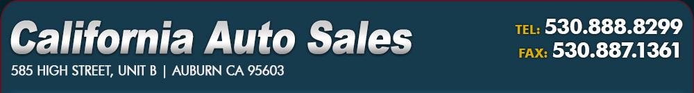 California Auto Sales - Auburn, CA
