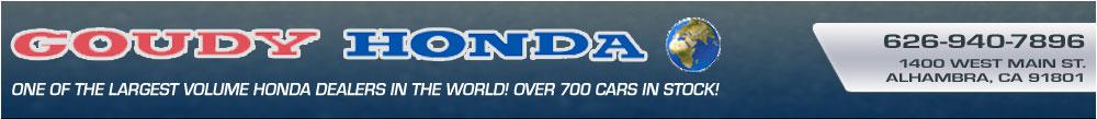 Goudy Honda - Alhambra, CA