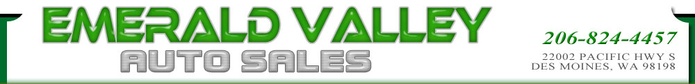 Emerald Valley Auto Sales - Des Moines, WA