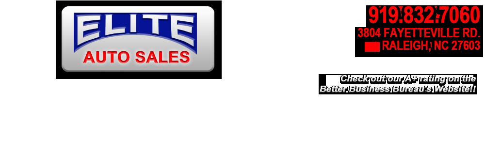 Elite Auto Sales - Raleigh, NC