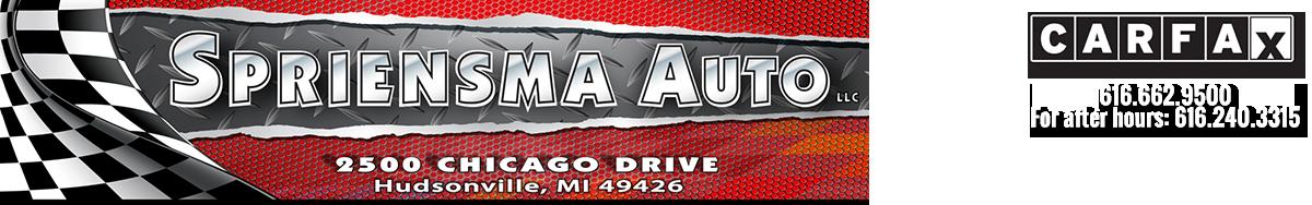 Spriensma Auto LLC - Hudsonville, MI