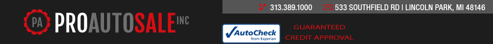 Pro Auto Sale Inc - Lincoln Park, MI