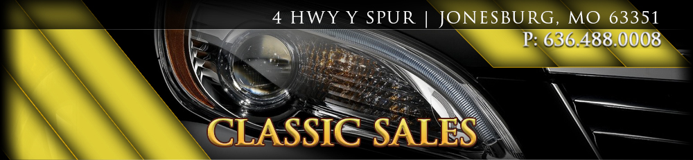 Classic Sales - Jonesburg, MO