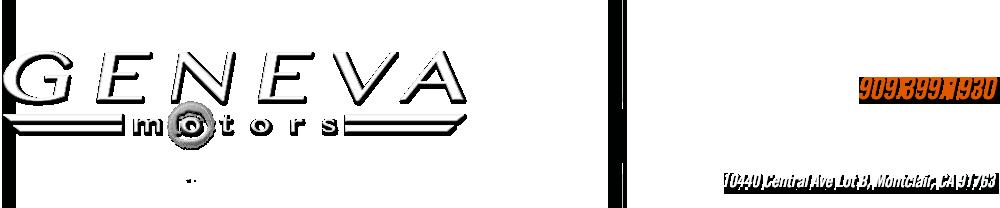 Geneva Motors, Inc. - Montclair, CA