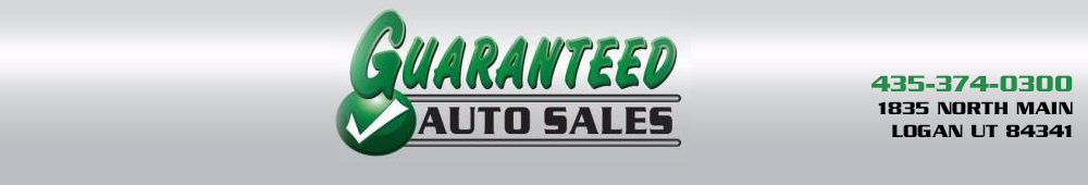 GUARANTEED AUTO SALES - Logan, UT