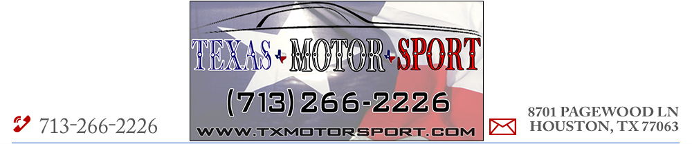 Texas Motor Sport - Houston, TX