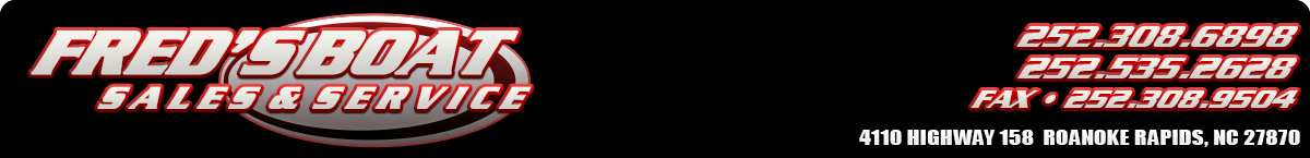 FRED'S BOAT SALES & SERVICE - Roanoke Rapids, NC