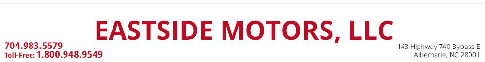 EASTSIDE MOTORS, LLC  - Albemarle, NC