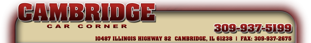 Cambridge Car Corner - Cambridge, IL