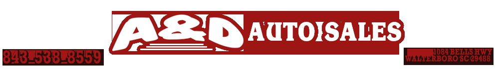 A & D Auto Sales Inc - Walterboro, SC