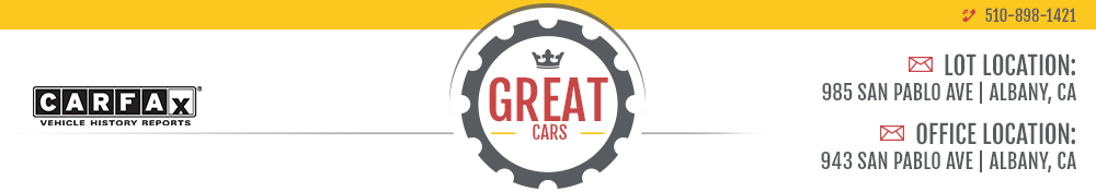 Great Cars - Albany, CA