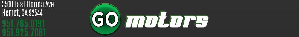 GO MOTORS - Hemet, CA