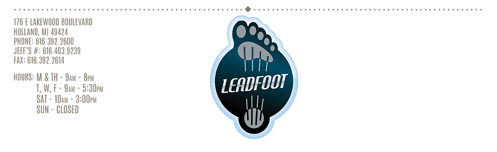 Leadfoot - Holland, MI