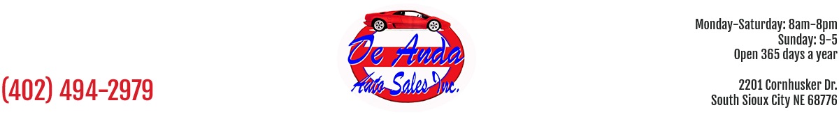 De Anda Auto Sales - South Sioux City, NE