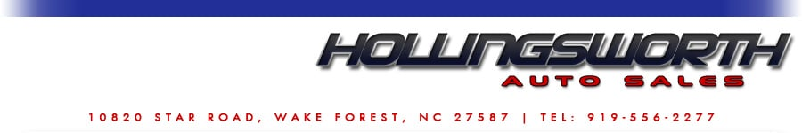Hollingsworth Auto Sales - Wake Forest, NC