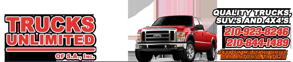 Trucks Unlimited - San Antonio - San Antonio, TX
