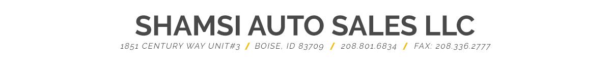 Shamsi Auto Sales - Boise, ID