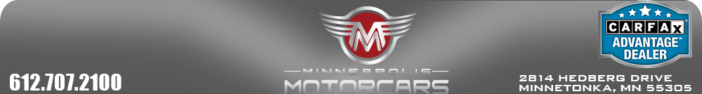Minneapolis Motorcars - Minnetonka, MN