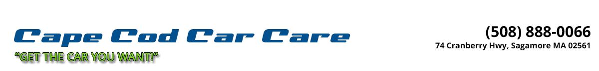 Cape Cod Car Care - Sagamore, MA