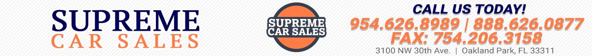 Supreme Car Sales - Oakland Park, FL