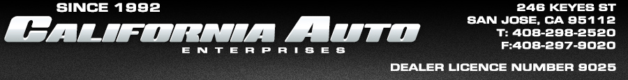 California Auto Enterprises - San Jose, CA
