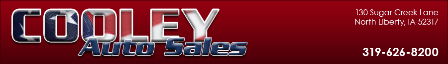 Cooley Auto Sales Used Cars North Liberty Ia Dealer