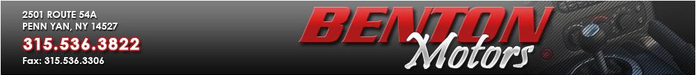 Benton Motors - Penn Yan, NY