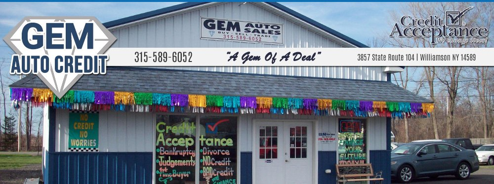 Gem Auto Sales - Williamson, NY