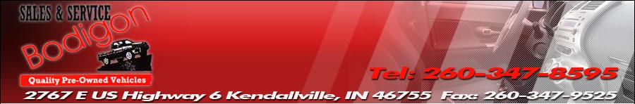 Bodigon Sales - Kendallville, IN