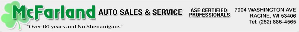 Mc Farland Auto Sales & Service - Racine, WI