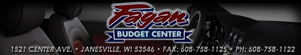 Fagan Budget Center - Janesville, WI