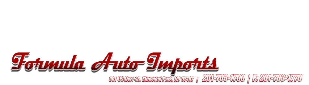 Formula Auto Imports - Elmwood Park, NJ