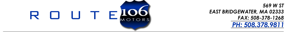 Route 106 Motors - East Bridgewater, MA