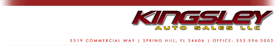 Kingsley Auto Sales LLC - Spring Hill, FL