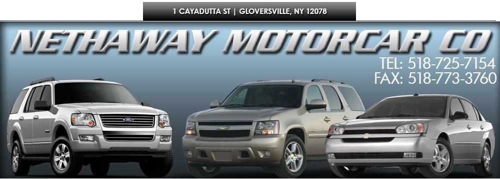 Nethaway Motorcar Co - Gloversville, NY