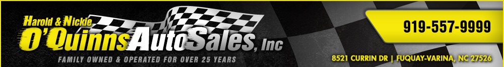 O'Quinns Auto Sales, Inc - Fuquay Varina, NC