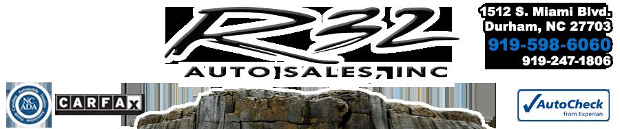 R 32 Auto Sales - Durham, NC
