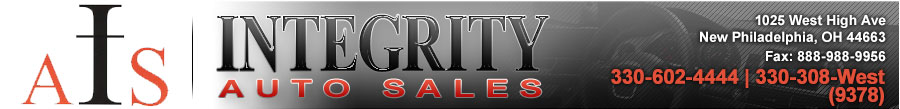 Integrity Auto Sales Inc - New Philadelphia, OH