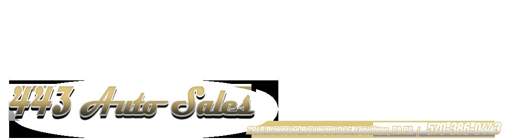 443 Auto Sales - Lehighton, PA