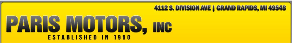 Paris Motors Inc - Grand Rapids, MI