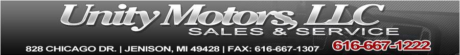 Unity Motors LLC - Jenison, MI
