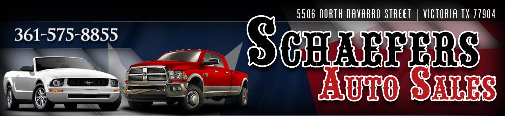 Schaefers Auto Sales - Victoria, TX