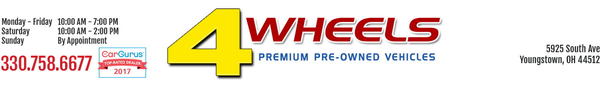 4 Wheels Premium Pre-Owned Vehicles  - Youngstown, OH