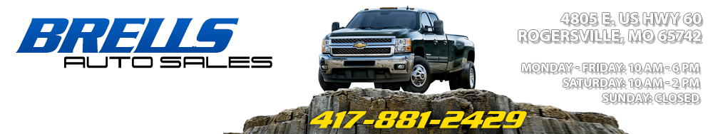 Brells Auto Sales - Rogersville, MO