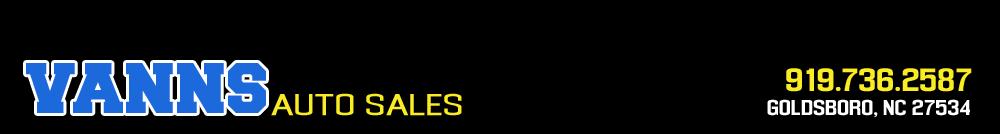 Vanns Auto Sales - Goldsboro, NC