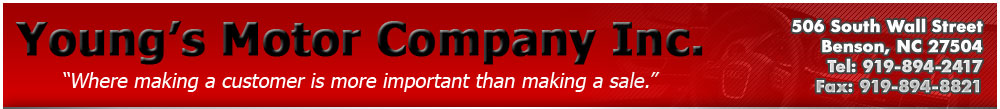 Young's Motor Company Inc. - Benson, NC