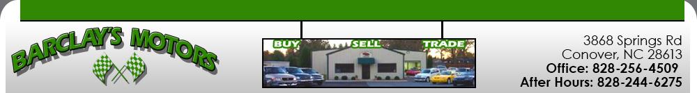 Barclay's Motors - Conover, NC