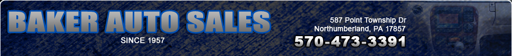 Baker Auto Sales - Northumberland, PA