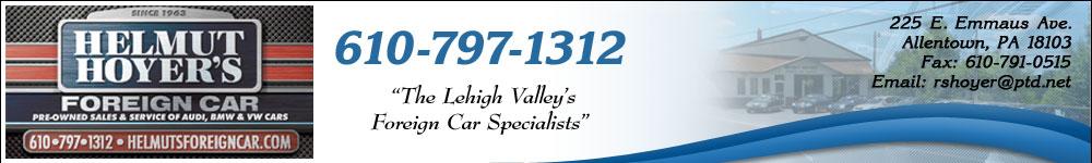 Helmut Hoyer's Foreign Car Sales & Service - Allentown, PA